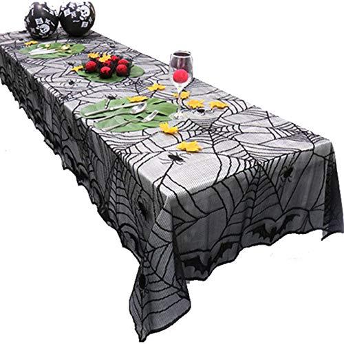 ASOSMOS Spinnennetz Cobweb Tischdecke Abdeckung Spitze Dekoration Durable Für Halloween Party Zu Hause