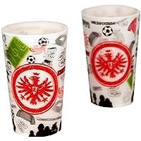 6 Würfel Spiel Deutsch 2011 Fußball-Artikel Eintracht Frankfurt Würfelbecher