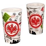 Eintracht Frankfurt Kritzel Becher 2er Set