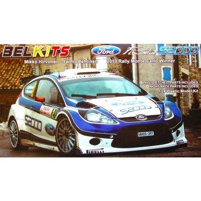 Belkit Model Kit - Ford Fiesta S2000 2010 Monte Carlo Car - 1:24 Scale - BEL002 (1 24 Scale Model Kits)