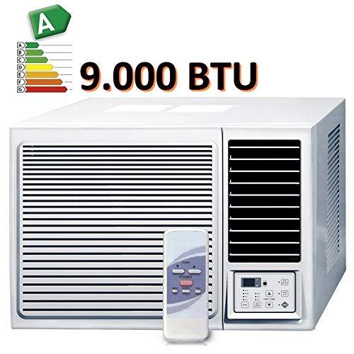 CLIMATISEUR fenêtre 9000 BTU CLIMATISATION R32 MONOBLOC avec pompe à chaleur