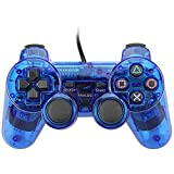 BlackUdragon Wired Gamepad für Sony PS2 Controller Joystick für Plasystation 2 doppelte Vibration Shock Joypad Wired Control