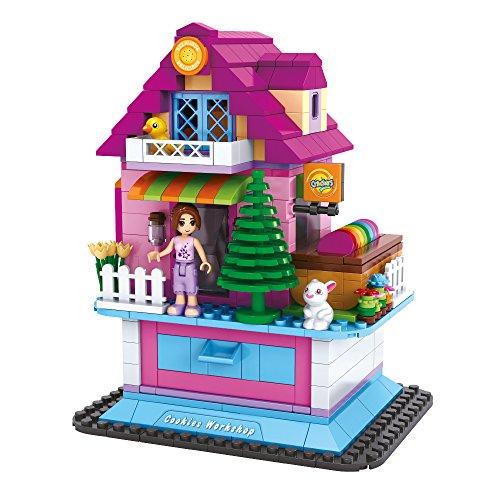 Ausini - Juego de construcción Casita con cajón - 388 piezas (ColorBaby 44354)