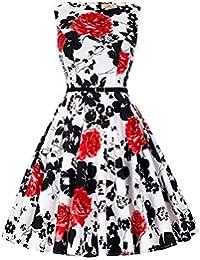 d725fc81f8cc78 Grace Karin 50s Retro Vintage Rockabilly Kleid Partykleider Cocktailkleider  GD6086