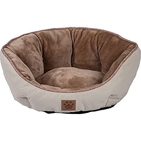 Precision Pet SnooZZy Rustic Elegance Clamshell Bed Buff