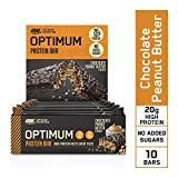 Optimum Nutrition Protein Bar - Protein Riegel (mit 20g Eiweiß [enthält Whey Isolate],...