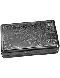 Tobacco Tin Box Case Stainless Steel Smoking Cigarette Storage Paper Holder