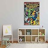 Marvel Spiderman VS Hulk Leinwand Bilder (PPD1686O1FW)