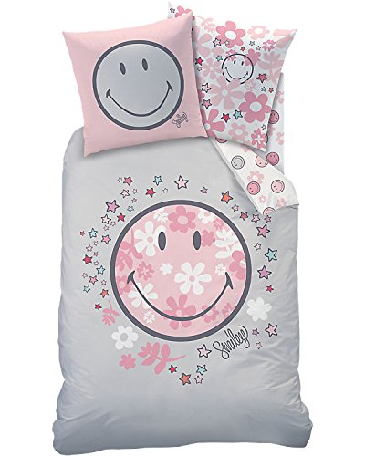 Termana Smiley niña Cama · Happy Flower