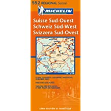 Carte RGIONAL Suisse Sud-Ouest