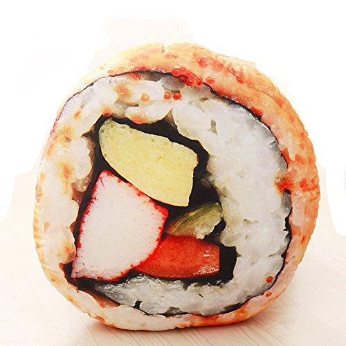 Generic \'Creative-, 3D-, Deko-Kissen, für Mädchen Sushi Rewinding 46 * 46cm