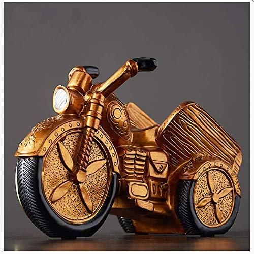 TXHZJX Weinregal Vintage Motorrad Glocke Weinregal Massivholz Weinregal Wohnzimmer Fernsehschrank Weinschrank Esszimmer Dekorationen