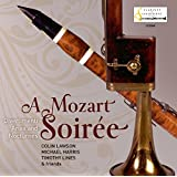 Mozart:A Soiree [Colin Lawson; Michael Harris; Timothy Lines] [CLARINET CLASSICS:CC0069]