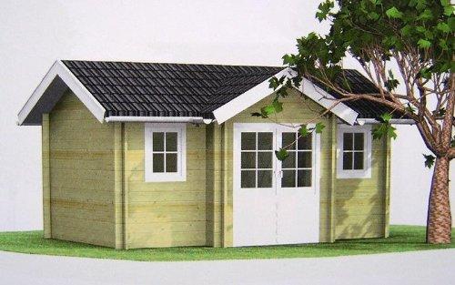 Holzlaube Gartenhaus | Ontspannenjezelfzijn