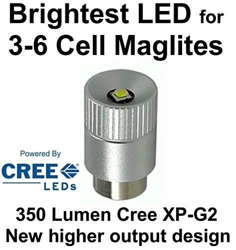 Maglite LED Upgrade Modul Birne Cree XP-G2 350 Lumen für 3D 4D oder 6D C Cell Taschenlampe modul, UpLED Maglite 6d-cell