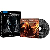 Game of Thrones Season 7 UK Limited Edition 4 Disk Blu-ray includes Conquest & Rebellion Region free
