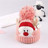 ETMAAA Baby-Rotwild-Ohrenschützer-Wollhut-Kinderweihnachtshut scherzt netten Winter-Hut