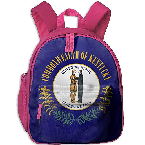 Funny Schoolbag Backpack Flag of Kentucky Kid and Toddler Student Backpack School Bag Super Bookbag