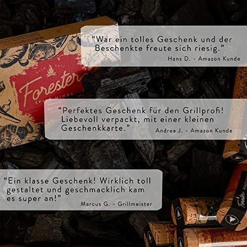 51EwsN7Md4L - BBQ Grill Gewürze Geschenkset Männer I 5 erlesene Grillgewürze inkl. Rezepte, perfektes Grill Geschenk für Männer, Grill Geschenke für Männer