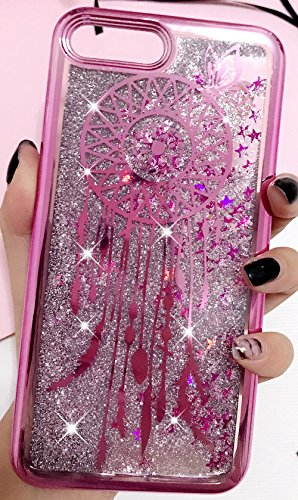 Iphone 6 Plus Coque Silicone, Coque Iphone 6S Plus silicone, Nnopbeclik® (5.5 Pouce) Colorful Paillettes Briller Style Backcover Doux Soft Dégradé de Couleur Housse pour Apple Iphone 6 Plus / Iphone 6 campanule