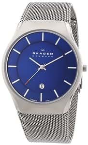 Skagen Herren-Armbanduhr Analog Quarz Edelstahl 956XLTTN