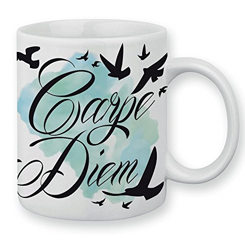 Mug Carpe Diem oiseaux- Fabriqué en France - Licence officielle Pouny Pouny - Chamalow shop