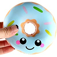 Malloom Juguetes de descompresión 11cm Lovely Donut Cream Slow Rising Squeeze Juguetes Colección Scented Slow Rising Squeeze Collect Juguete de Alivio de estrés