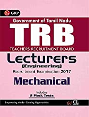 TRB Teachers Recruitment Board Lecturers (Engineering) Mechanical 2017 (Old Edition)