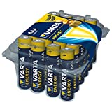 Varta Energy - Pack de 24 pilas alcalinas AAA / LR03 / Micro