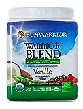 Sunwarrior Warrior Blend Vanille, neue Formel, Bio-Qualität, 1er Pack (1 x 500 g)