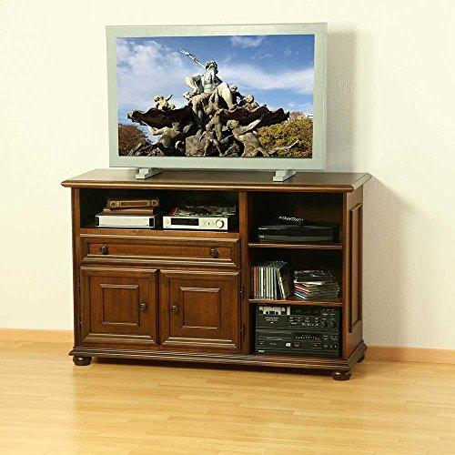 Pharao24 TV-Sideboard aus Nussbaum Antik Italienischer Stil