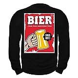 Männer und Herren Pullover MÄNNERTAG Bier Formte Diesen schönen Körper