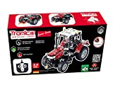 Metal Construction Model Kit RC Tractor 5430 Massey Ferguson 531 parts 1:24 LED function tools picture instructions Radio Controlled mechanical building set farm collectable toy age 10+ STEM Tronico