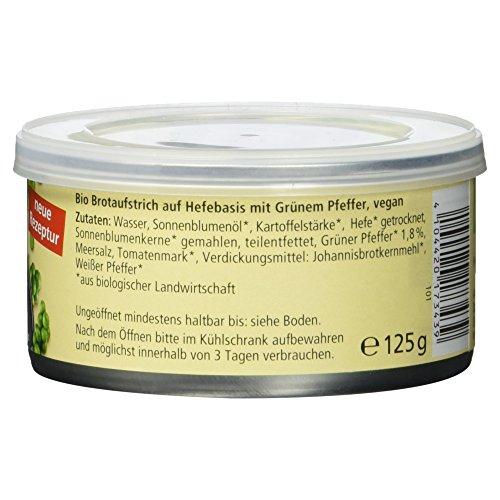 Alnatura Bio Pastete Grüner Pfeffer, vegan, 6er Pack (6 x 125 g) - 4