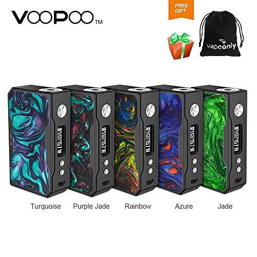 Voopoo Drag 157 W TC Box MOD con Super Gene Chip- Lega di zinco + Pannello di resina-Sigaretta elettronica No Nicotina, No E Liquid (Purple Jade)