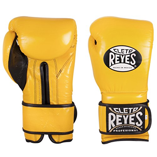 Cleto Reyes CE616A Guantes de Entrenamiento, Unisex Adulto, Amarillo, 16 oz