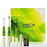 #3: ADS Green tea Waterproof Eyeliner Pencil Liquid Dip Liner Free Laperla Kajal-GHPSR