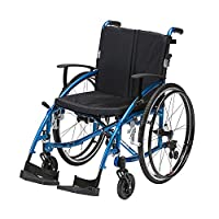 """Ability Superstore Spirit Wheelchair - 18"""" (Eligible for VAT relief in the UK)"""