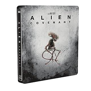 Alien: Covenant Steelbook [Blu-Ray] [Region Free] (Deutsche Sprache. Deutsche Untertitel)