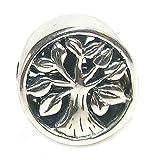 Queenberry Charm-Anhänger aus Sterlingsilber, Baum des Lebens, für Pandora, Troll, Chamilia, Biagi Armbänder