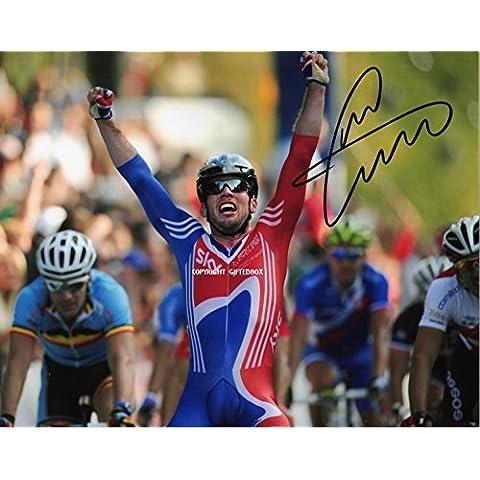 Edizione limitata Mark Cavendish Tour de France ciclismo firmato foto + Cert Edizione Limitata, Con Autografo stampato