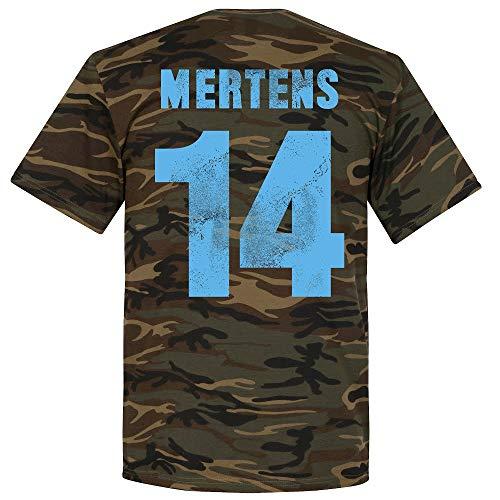 Retake Napoli Mertens Camiseta Camuflaje Negro Camuflaje