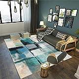 GUO-YANGH Teppich-Modern,weich Designer, Arbeitszimmer Wohnzimmer Couchtisch Matten Schlafzimmer Matten-3_70 * 140cm