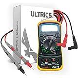 ULTRICSÂ Digital LCD Multimeter Voltmeter Ammeter OHM AC DC Circuit Checker Tester Buzzer 1000V 10A Probes
