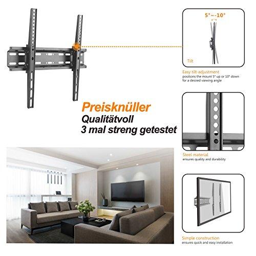 TV Fernseh Wandhalterung Wandhalter Halterung für Fernseher Grundig Fire TV Edition VLX 7010 43 49 55 VLE 6010 32 40 43 Zoll VESA 400x400
