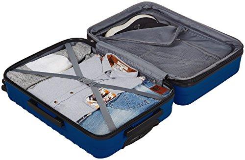 AmazonBasics Hartschalen-Trolley - 68 cm, Marineblau - 6