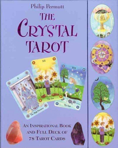 THE CRYSTAL TAROT [WITH PAPERBACK BOOK] By Permutt, Philip (Author) Other on 01-Aug-2010