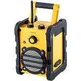 auvisio Baustellen- & Outdoor-Radio & -Lautsprecher DOR-108; 3 W