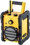 auvisio Baustellen- & Outdoor-Radio & -Lautsprecher DOR-108, 8 Watt