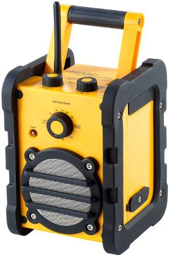 Preisvergleich Produktbild auvisio Baustellen- & Outdoor-Radio & -Lautsprecher DOR-108, 8 Watt